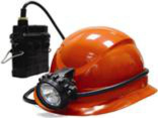 * Специально разработанная легкая...  Уникальная каска с расширенными полями и с креплением для шахтерского фонаря.